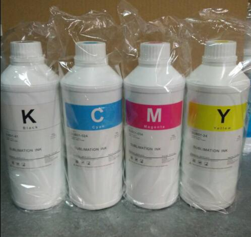 NEW Sublimation ink for uncoated paper in high speed print mode