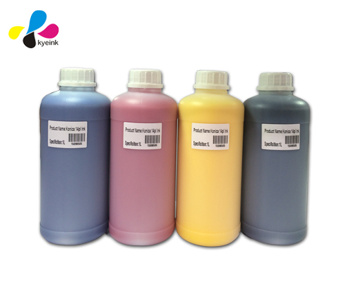 Wide color gamut eco solvent ink with high outdoor life