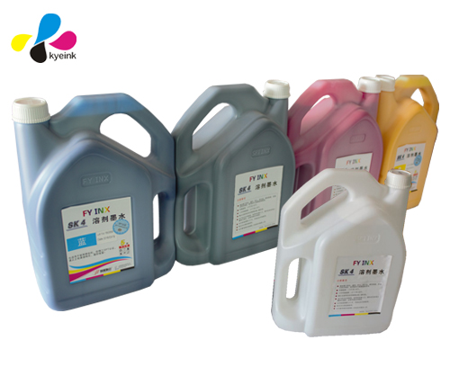 FY sk4 solvent ink for pvc flex banner printer