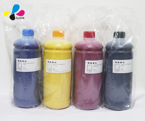 4 Colors 1000ml DTG  ink All Direct To Garment Printers