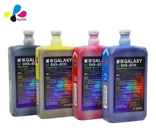 Original Galaxy eco solvent ink for dx4 / dx5 / dx7 print head