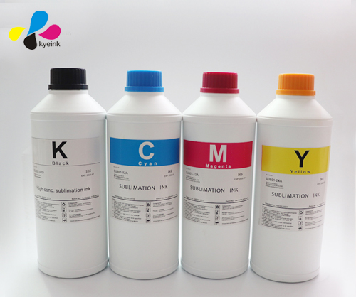 High density Sublimation ink for uncoated sublimation paper in high speed print