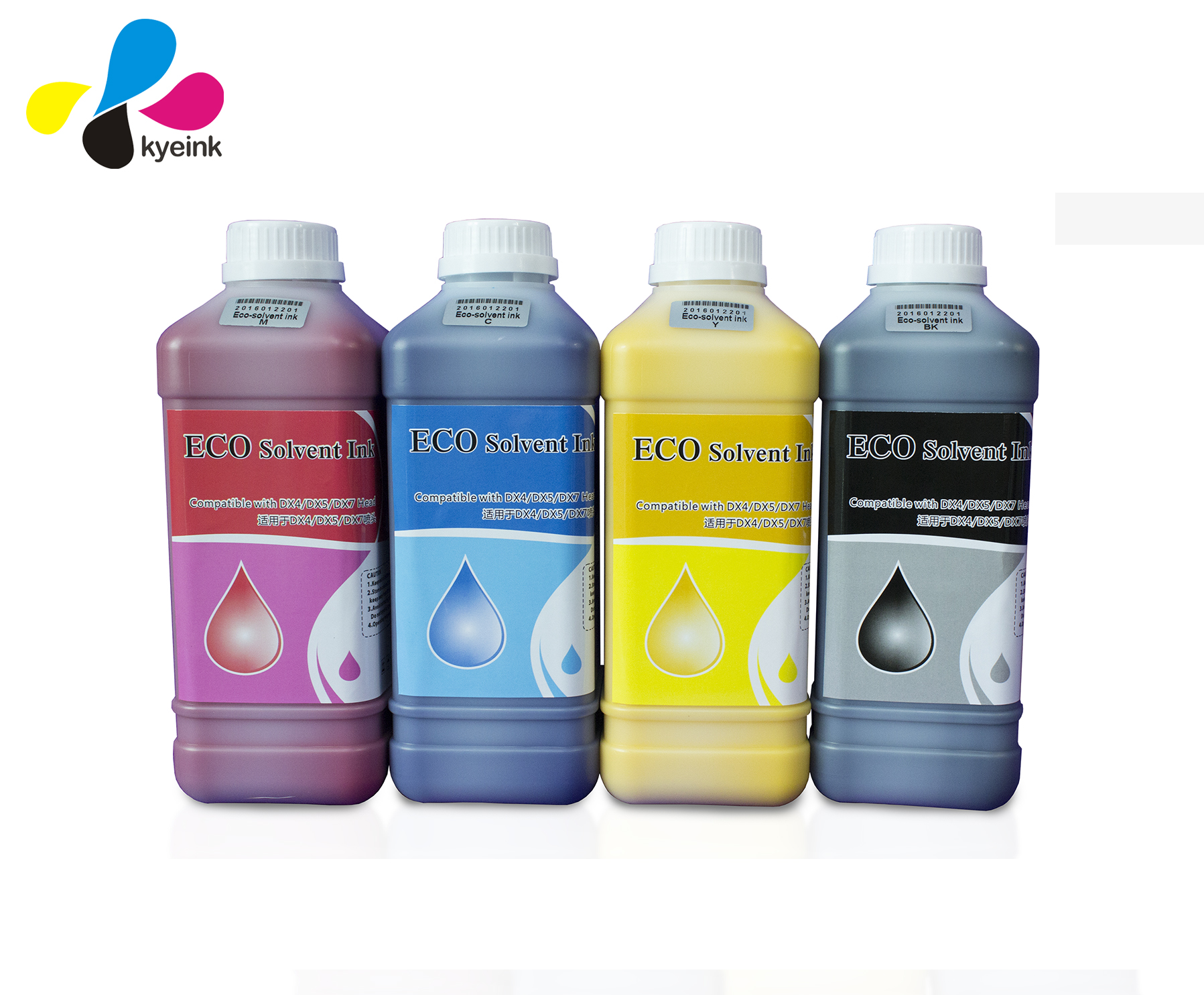 Eco solvent ink for epson DX5,DX7 head printer